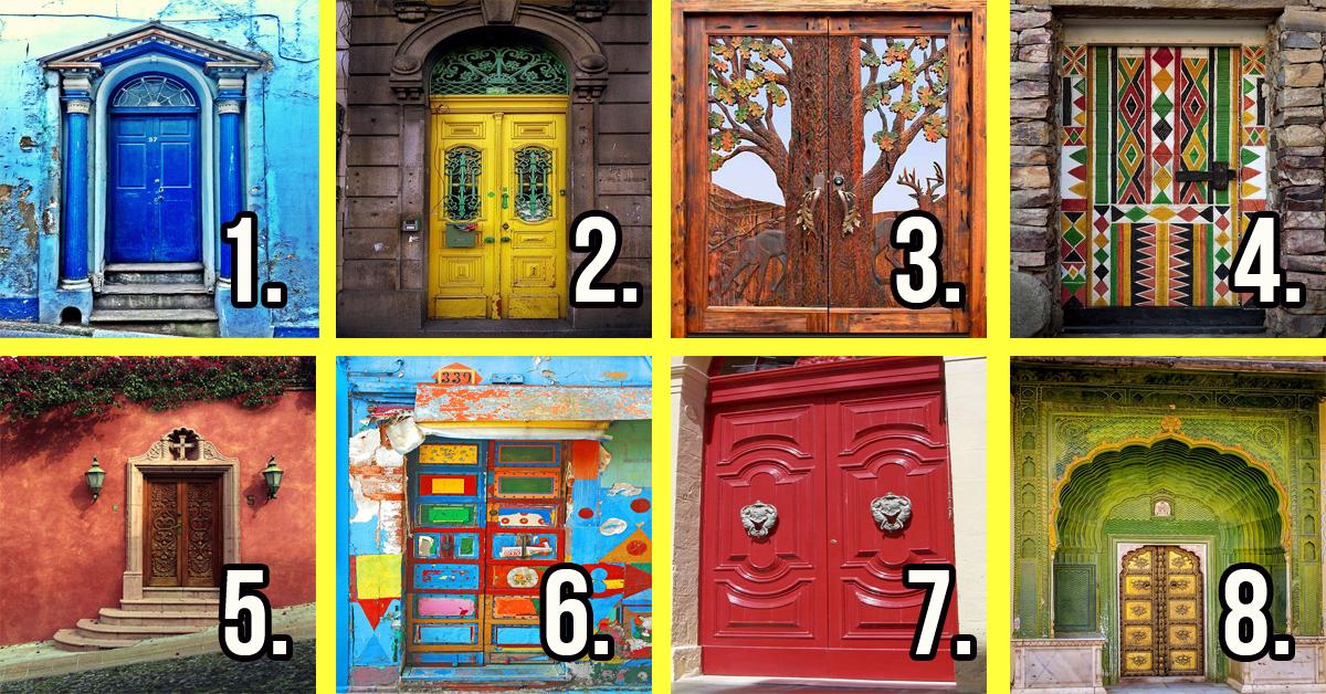 Тест двери в картинках на определение будущего