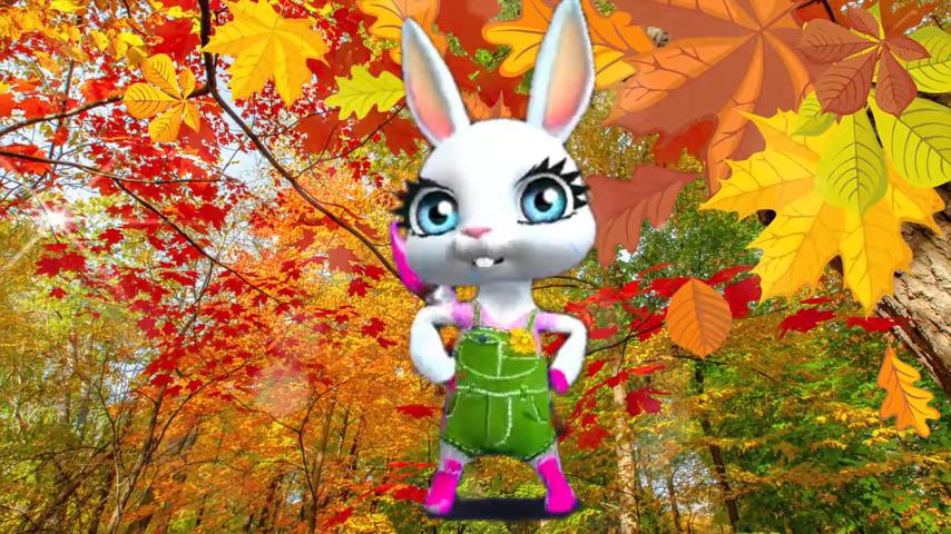 Для самых дорогих и любимых! Лучшее поздравление с началом осени от Зайки ZOOBE!