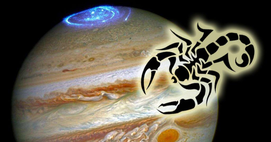 10 октября Юпитер-планета везения и процветания переходит в знак Скорпиона! Начался период удач!