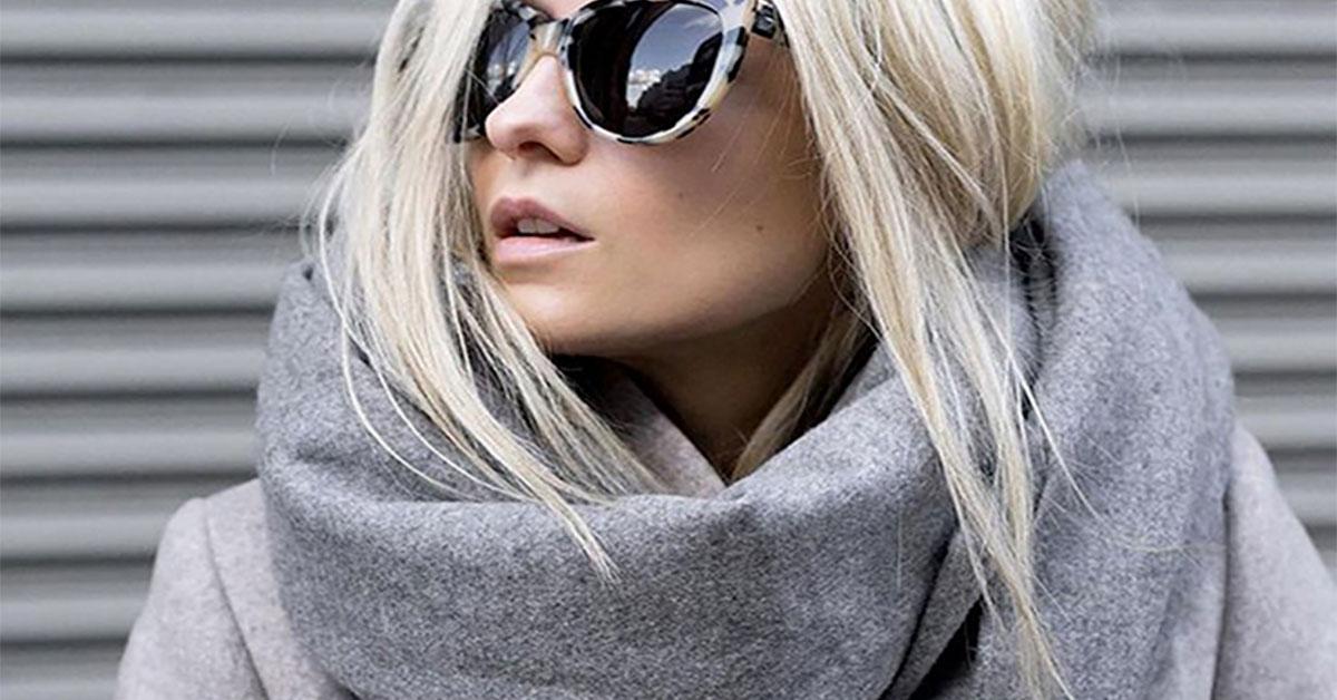 Простой способ стильно выглядеть при помощи платка, шарфа или палантина