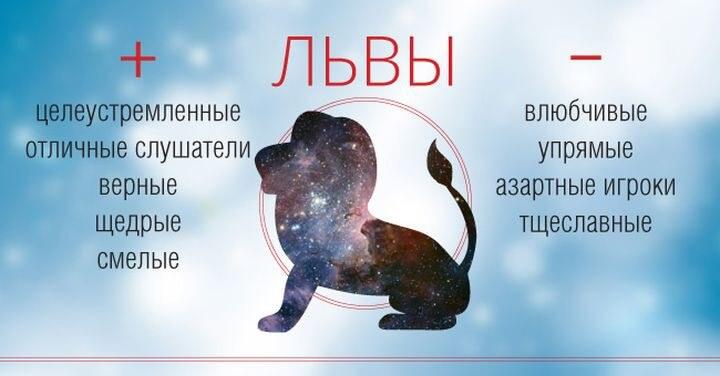 Гороскоп для льва женщины характеристика